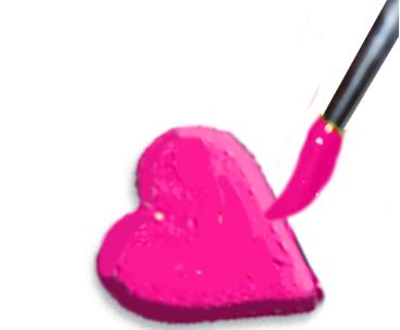Peindre les coeurs