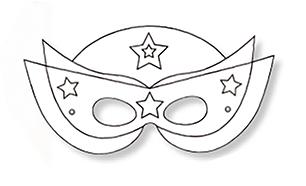 Coloriage Masque Darlequin.Coloriage Masque Super Heros