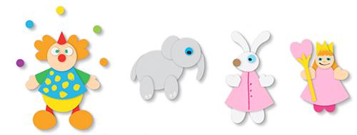 Créer divers personnages et animaux