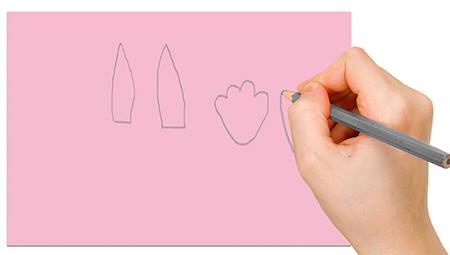 Dessiner les formes sur le papier