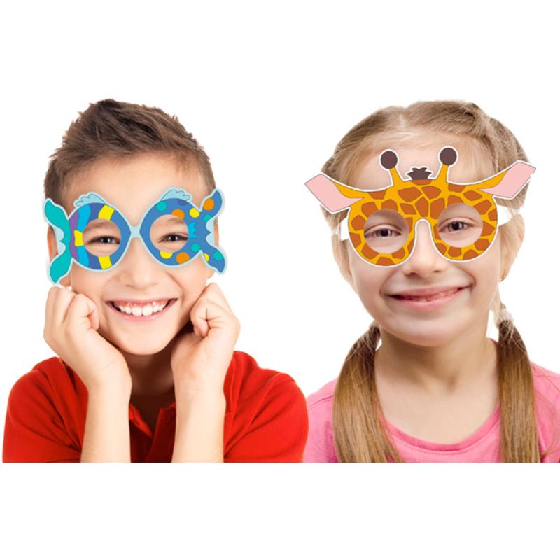 Coloriage de lunettes de déguisement