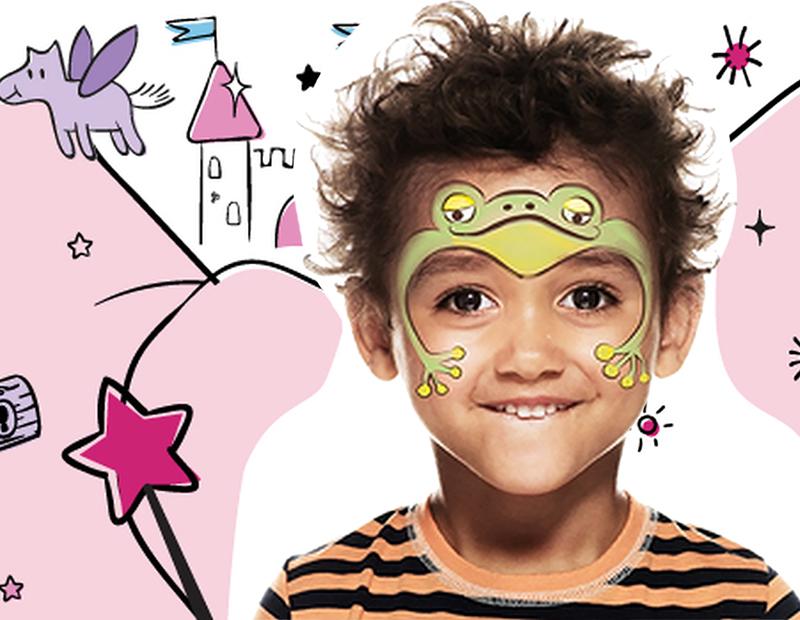 Maquillage de la grenouille de conte de f es avec snazaro - Maquillage chapelier fou ...
