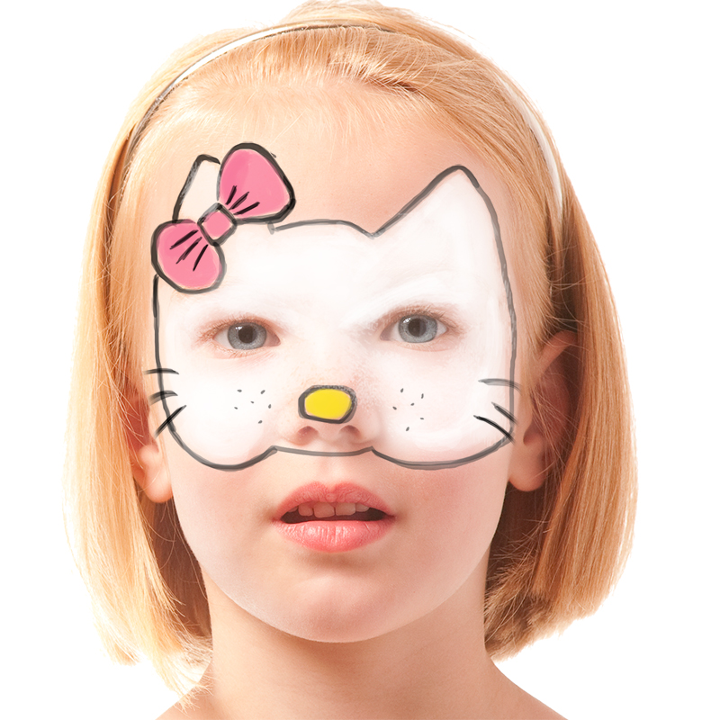 Maquillage Hello kitty