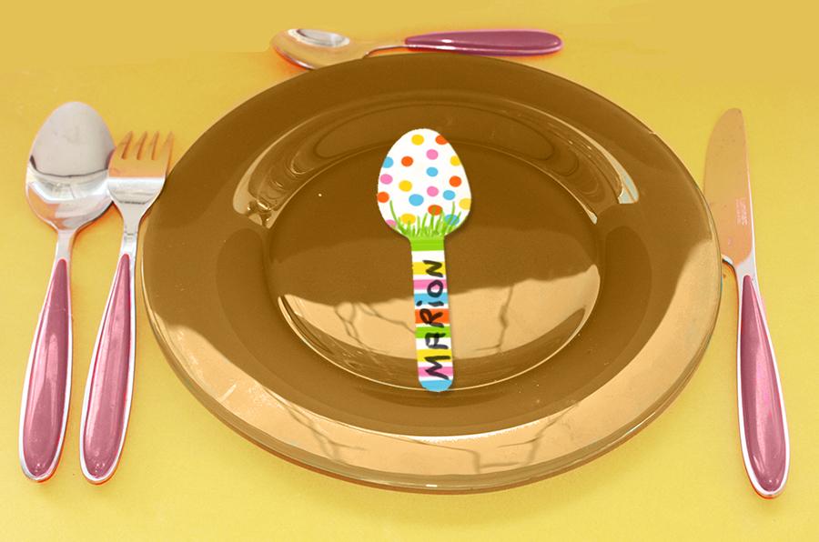 Marque-place de Pâques