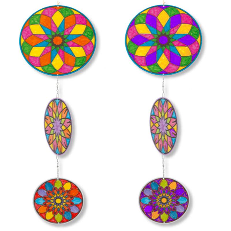 Coloriage mobile mandala
