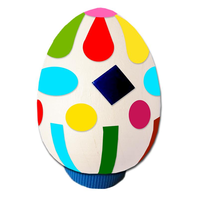 Oeuf décoré pour Pâques