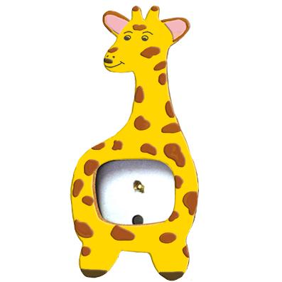 cadre en bois girafe t te modeler. Black Bedroom Furniture Sets. Home Design Ideas