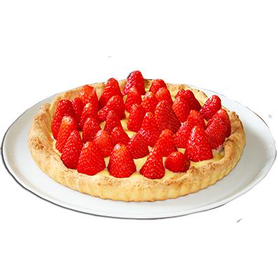 Tarte aux fraises sur t te modeler - Dessin tarte aux pommes ...