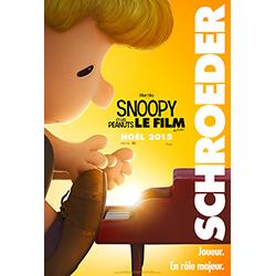 Schroeder - Snoopy et les peanuts