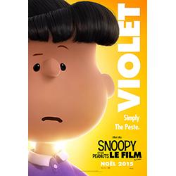 Violet - Snoopy et les peanuts