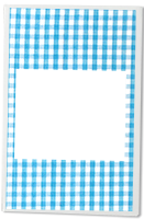 Coller un rectangle de papier blanc