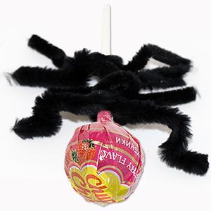 Former les 4 pattes de l'araignée