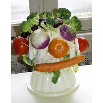 Chou-fleur Arcimboldo - légumes d'Arcimboldo