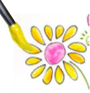 Peindre les fleurs de printemps