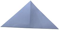 Plier dans l'autre diagonale