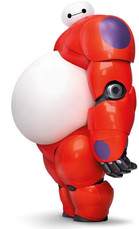 Baymax le robot de Hiro