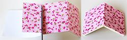 Recouvrir le couvercle de tissu