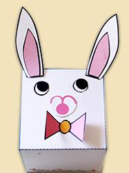 Coller les oreilles du lapin