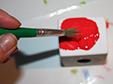 Peindre le bougeoir