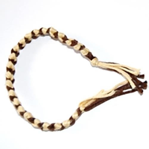 Bracelet bicolore fils de coton - Longueur fil bracelet bresilien ...
