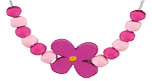 Ajouter 6 perles de chaque côté de la fleur
