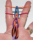 Formation du bracelet loom