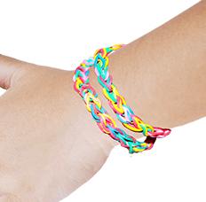 Bracelet en élastique