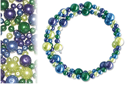 Kit bracelets azur à olive