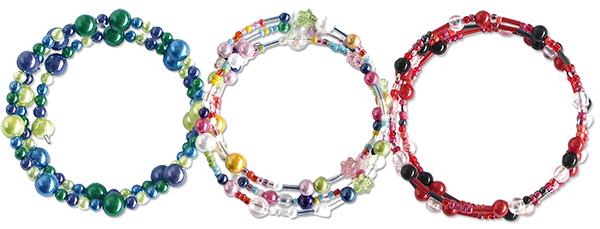 Tuto bracelets à mémoire de forme