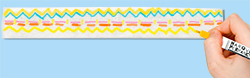 Utiliser des marqueurs textiles ou permanents