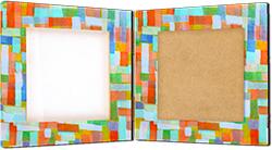 Recouvrir le cadre de Décopatch ou papier fantaisie