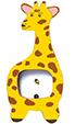Peindre la tête de la girafe