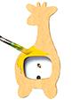 Peindre la girafe en jaune