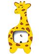 peindre les taches sur le cadre girafe