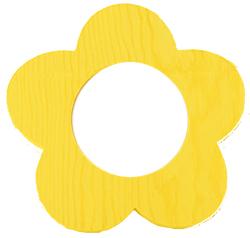 Peindre la corole du cadre fleur