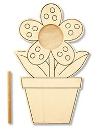 Kit cadre photo pot de fleur à décorer
