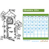 imprimer le calendrier 2014