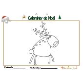 Calendrier de Noël page 11