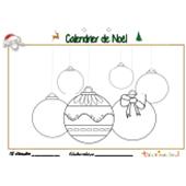 Calendrier de Noël page 12