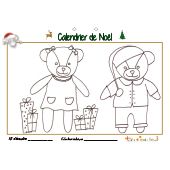 Calendrier de Noël page 15