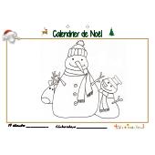 Calendrier de Noël page 19