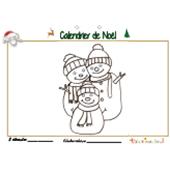 Calendrier de Noël page 2