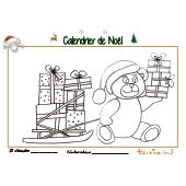 Calendrier de Noël page 21