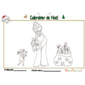 Calendrier de Noël page 6