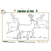 Calendrier de Noël page 7