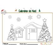 Calendrier de Noël page 8