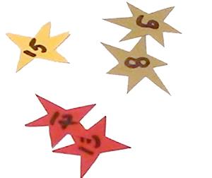 Numéroter les étoiles