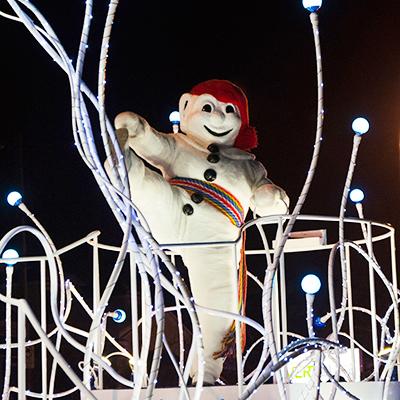 Bonhomme Carnaval Québec