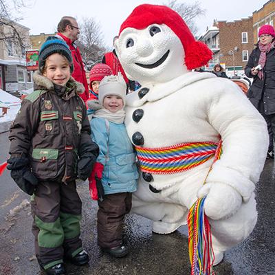 Bonhomme Carnaval - Carnaval de Québec