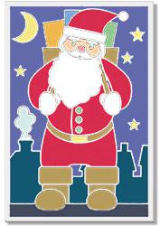 Gratter toute la carte de Noël